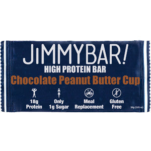 Jimmy Bar Chocolate Peanut Butter Cup Protein Bar