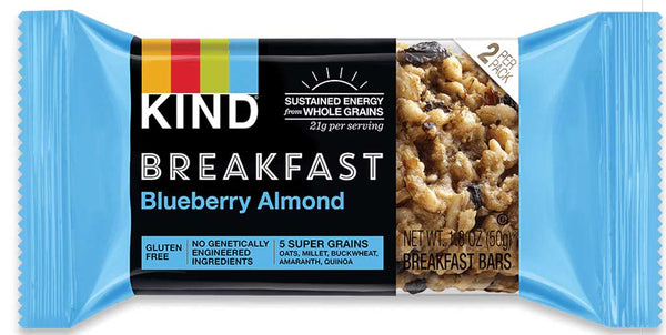 KIND Breakfast Blueberry Almond