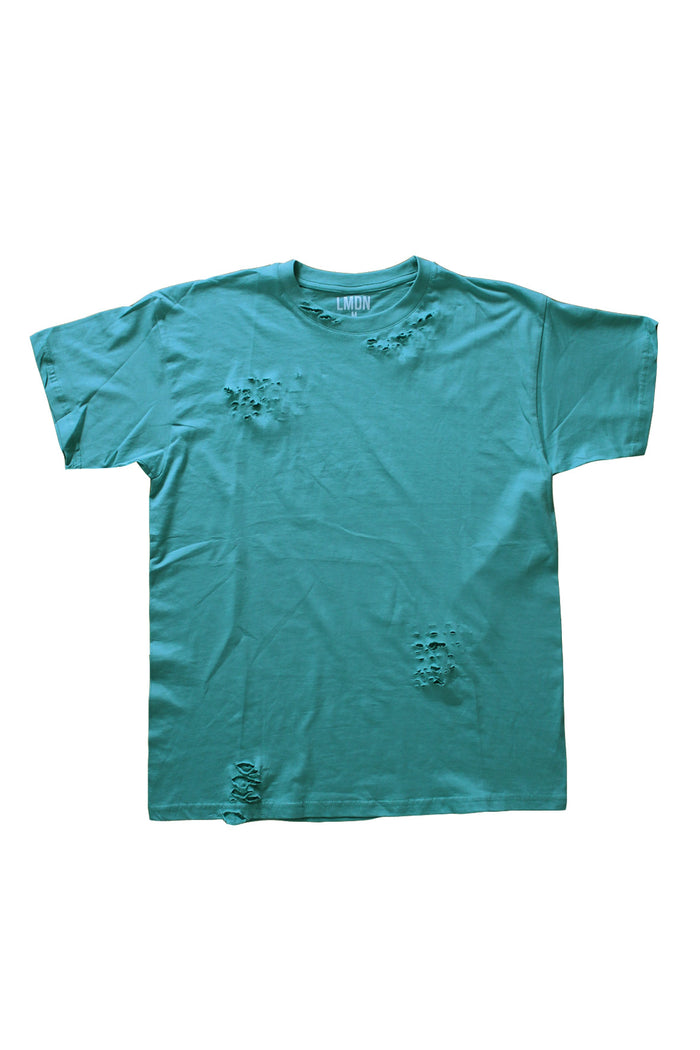Distressed T-Shirt - Peppermint