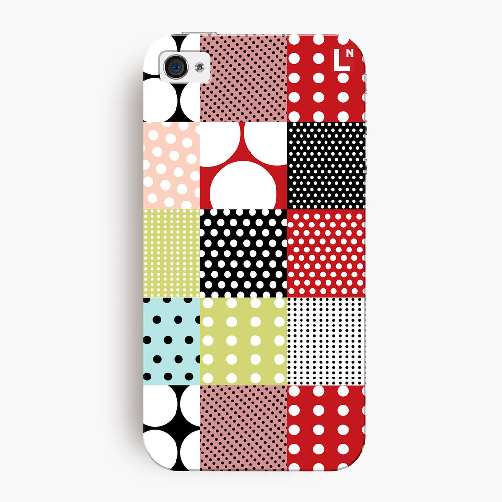 Polka Dots iPhone 4/4s Cover