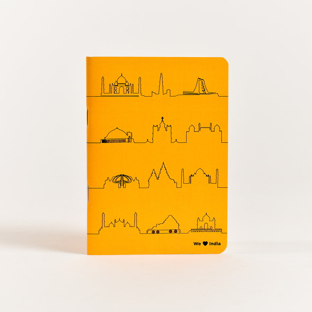India Pocket Notebook (A6 Size)