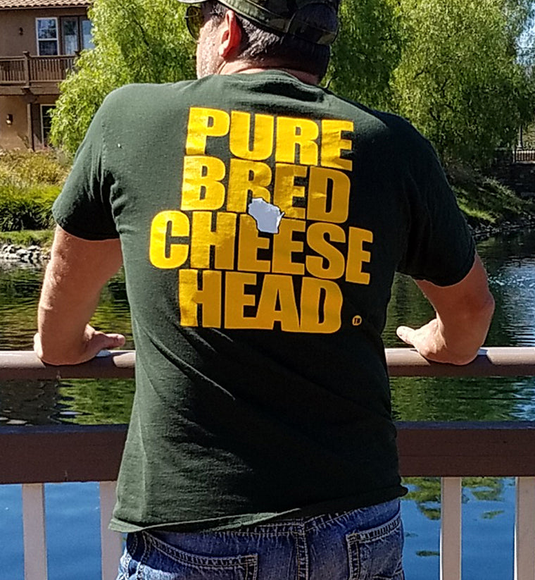 Purebred Cheesehead Shirt in Tundra Green