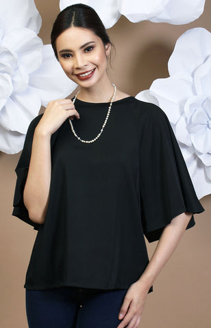 Calla Blouse -Black