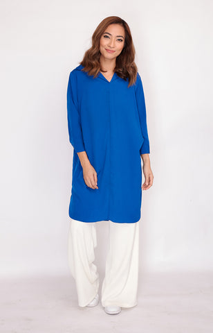 Blouse Bobbie-Royal Blue