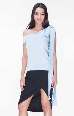 Audrina Top- Blue