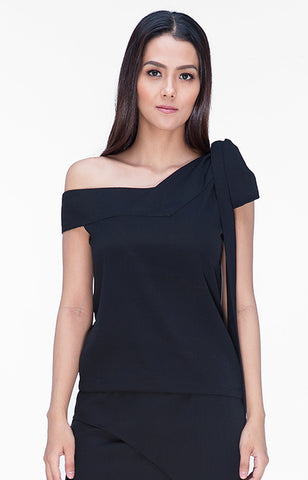 Audrina Top- Black