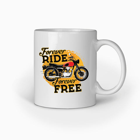 Forever Ride Forever Free | Coffee Mug