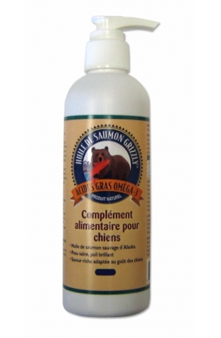 Huile Saumon Sauvage 1000ml (Grizzly)