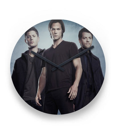 Supernatural Dean Sam Cas Wall Clock - Clock - Supernatural-Sickness