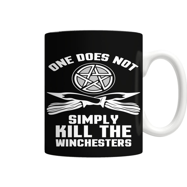 One Does Not Simply Kill The Winchesters - Mug - Drinkwear - Supernatural-Sickness - 1