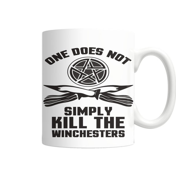 One Does Not Simply Kill The Winchesters - Mug - Drinkwear - Supernatural-Sickness - 3
