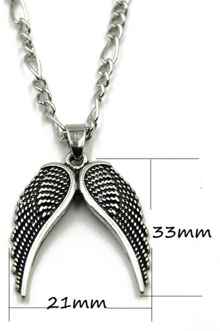 For Castiel Lovers Angel Wings Necklace (Free Shipping) - Necklace - Supernatural-Sickness - 1