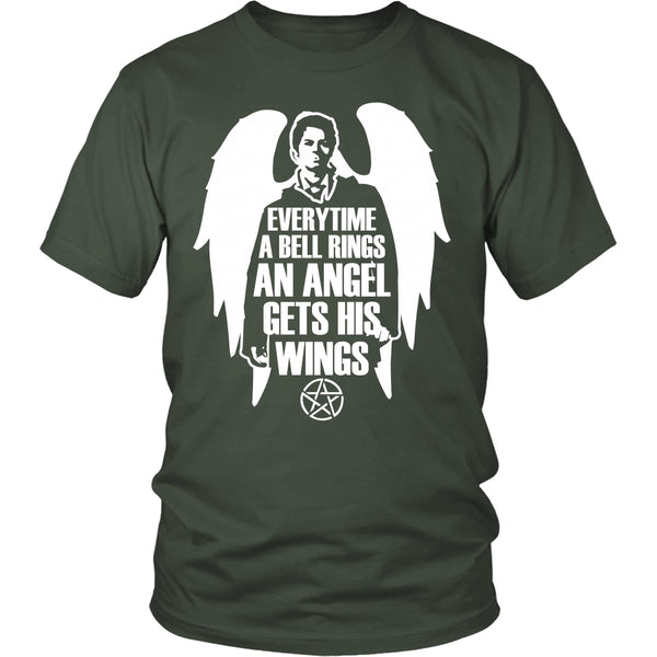 An Angel Gets His Wings - T-shirt - Supernatural-Sickness - 5