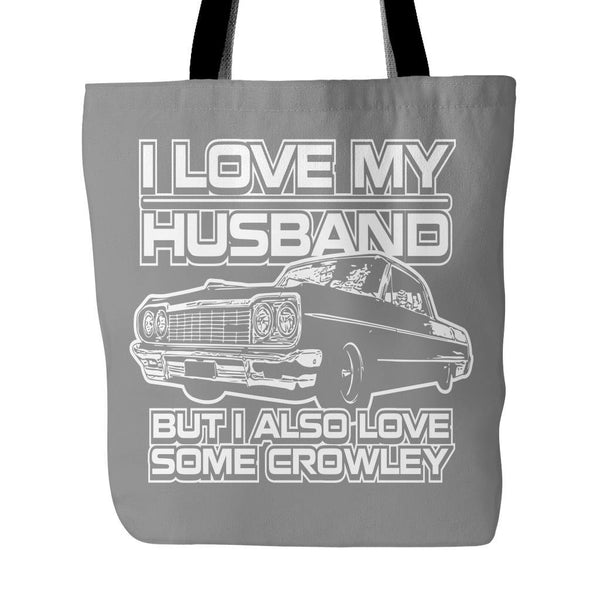 I Also Love Some Crowley - Totebag - Tote Bags - Supernatural-Sickness - 2