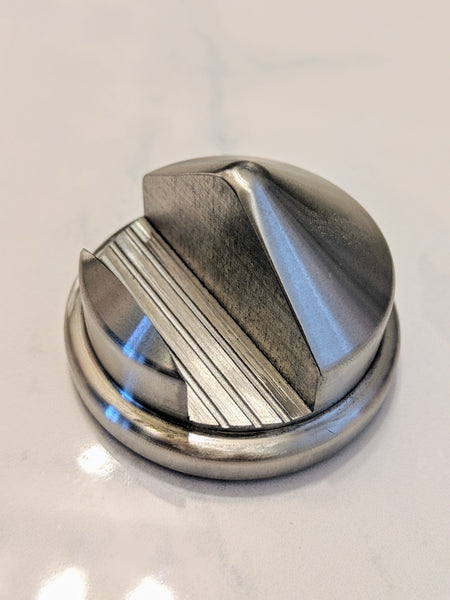 Rugged Stainless Steel Cartridge Razor Stand