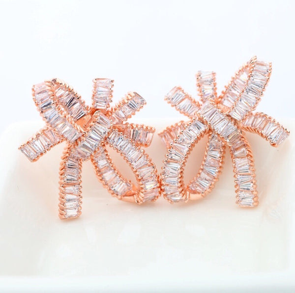 Rose Gold Bow - Zirena
