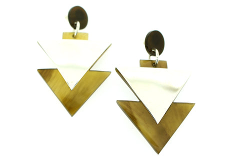 Double Arrow Silver - art-of-shop