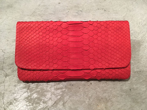 Archibald Leather Wallet Red