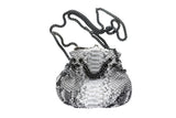Natural Marcel Python Gun Chains Shoulder Bag - art of shop  - 6