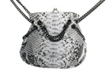 Natural Marcel Python Gun Chains Shoulder Bag - art of shop  - 5