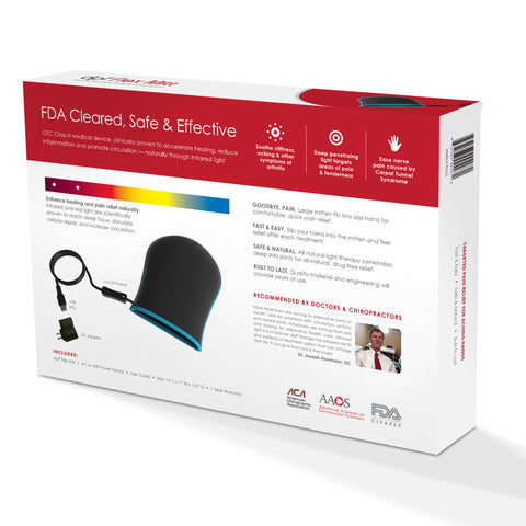NEW! FDA Cleared DPL LED Flex Mitt - Powerful Pain Relieving System