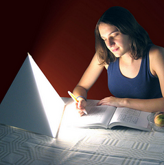 LUXOR Bright Desk Light Therapy System