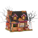 Halloween Village Party House