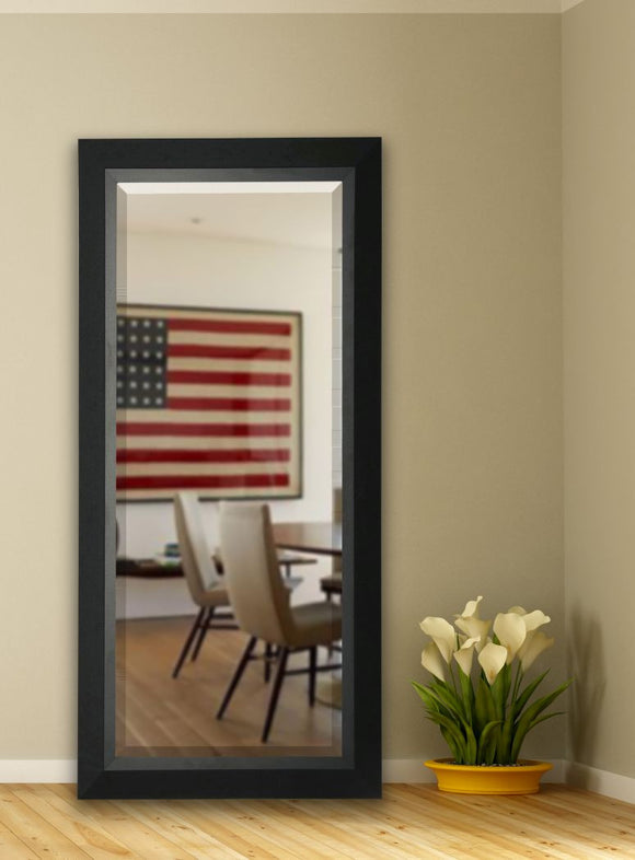 American Made Rayne Attractive Black Matte Extra Tall Mirror (R053XT) *Suggested Retail*