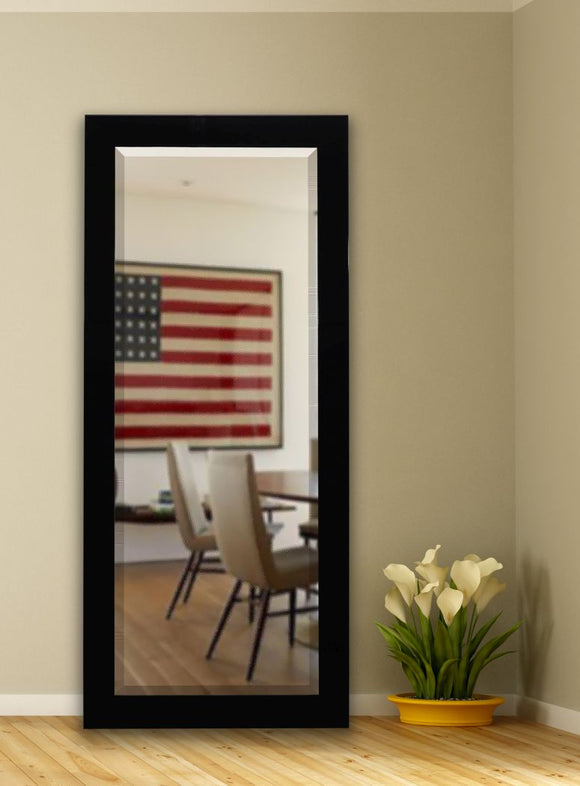 American Made Rayne Delta Black Extra Tall Mirror (R086XT) *Suggested Retail*