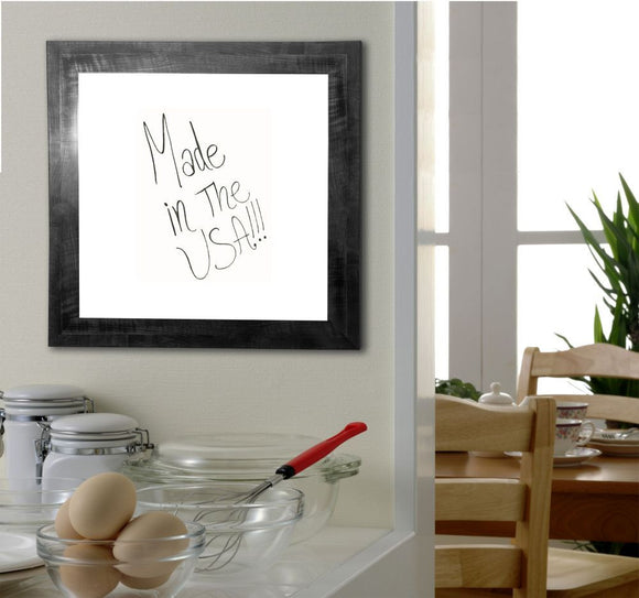 American Made Rayne Black Smoke Dry Erase Board (W45) *Suggested Retail*