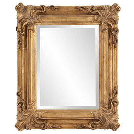 Edwin Antique Gold Mirror - Classy Mirrors