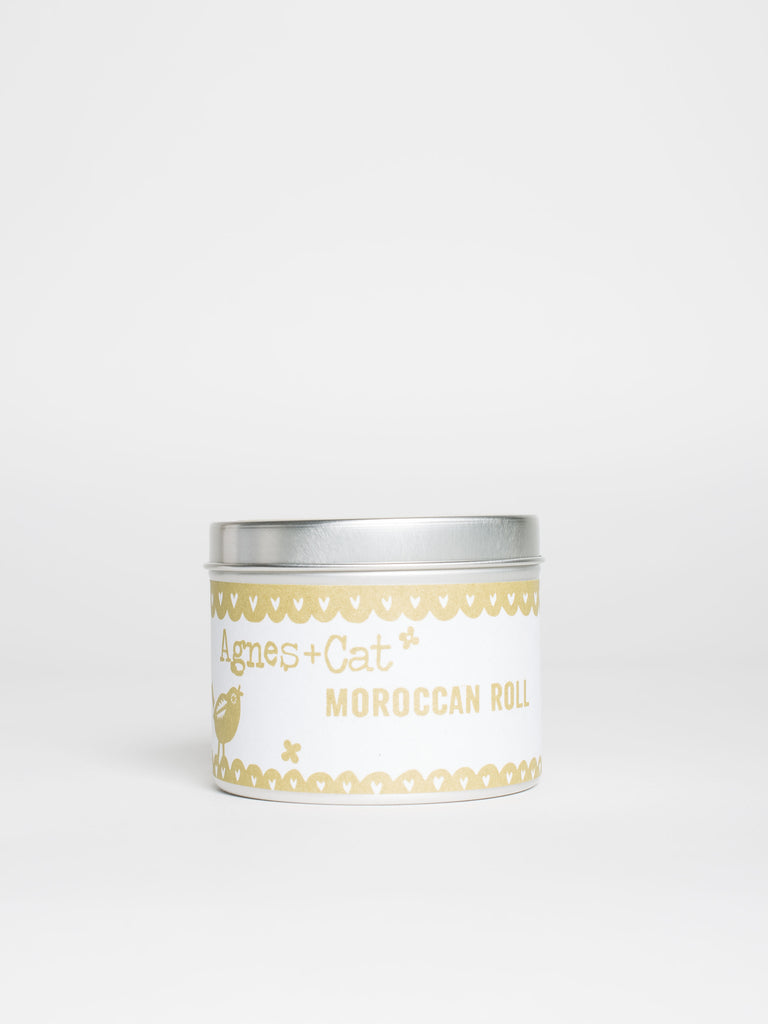 Moroccan Roll Soy Candle Tin