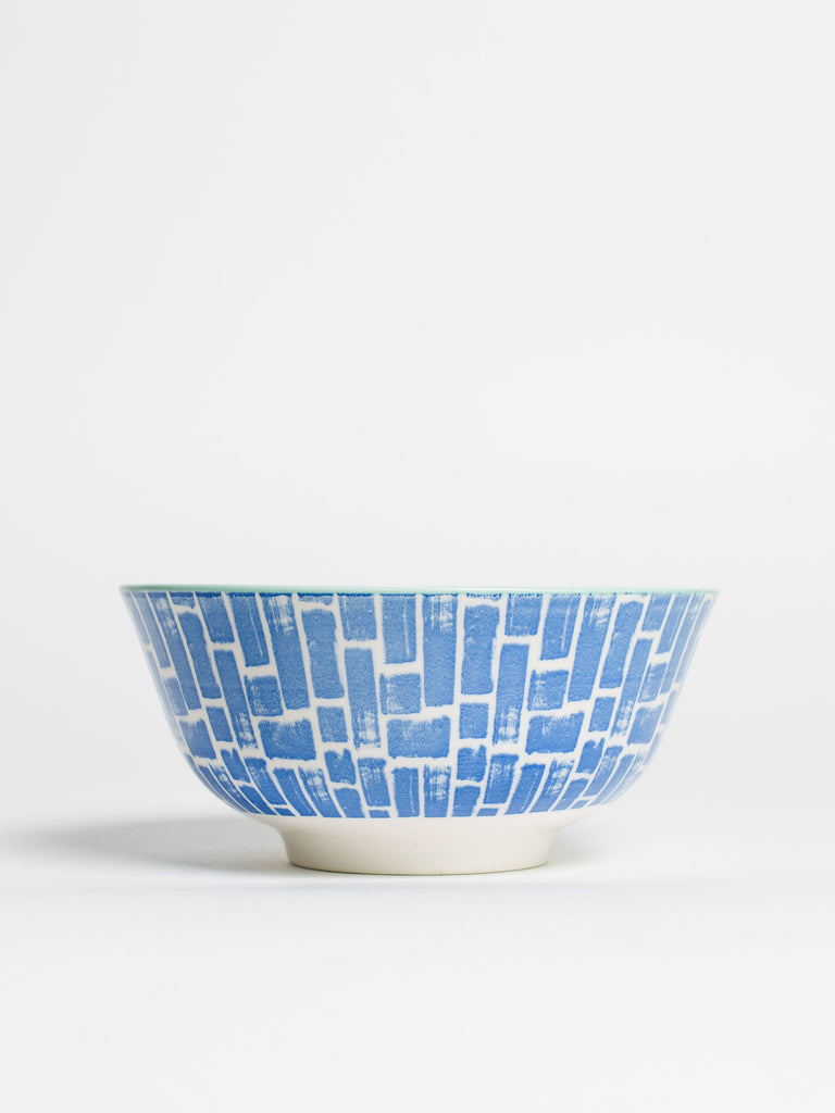 Blue Watercolour Ceramic Bowl