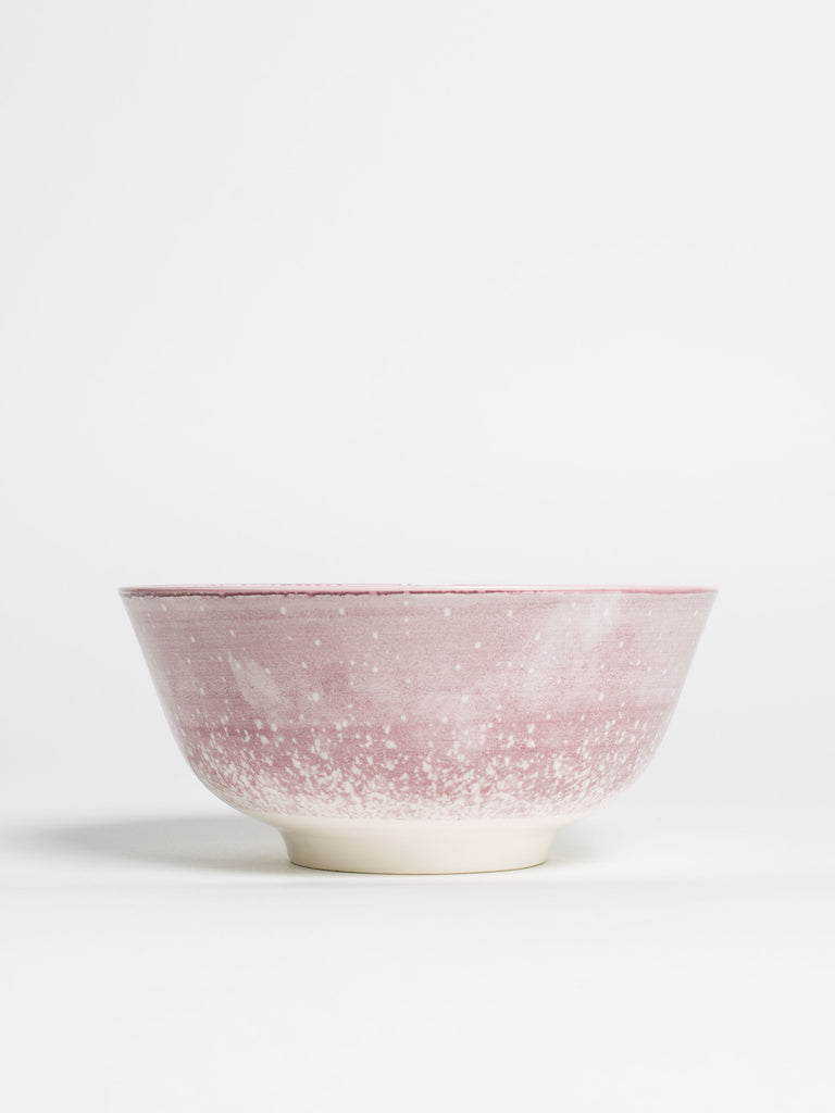 Purple Watercolour Ceramic Bowl