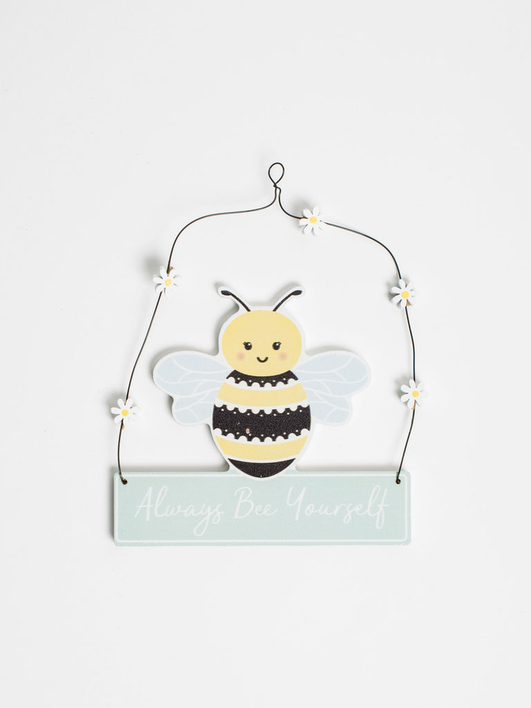 Queen Bee Hanging Plaque Decoration