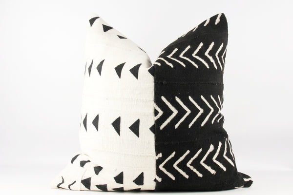 arrows African mud cloth pillow