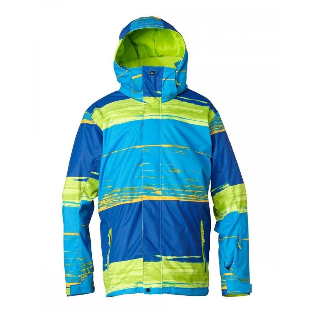 Quiksilver Youth Mission Jacket Repeater Bright  Kids Outerwear Australia