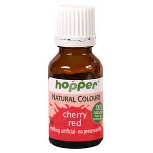 Hopper Natural Food Colouring Cherry Red 20g