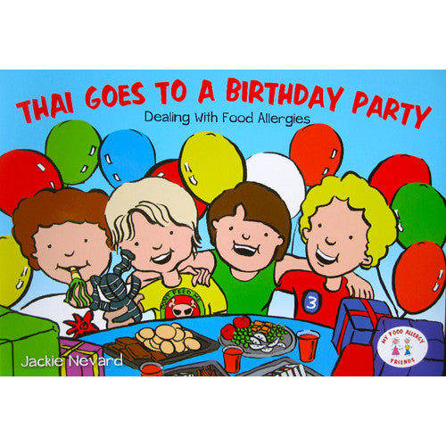 Jackie Nevard -Thai Goes to a Birthday Party Book