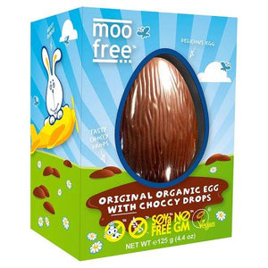 Moo Free Easter Egg Choccy Drops– Dairy, Egg, Gluten Free -Available now