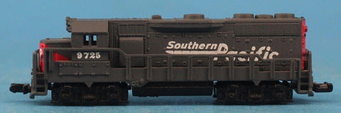 N Gauge Southern Pacific #9725 Dummy Engine Train Model #OEME36U /N Gauge New Haven NH #84217 Model Flat Car Flatcar #OMC81U /Bachmann N Gauge Southern #1228 Coal Train Model Car #BNC08U /Atlas N Gauge Pennsylvania #478120 Model Caboose Car #ASC01U/