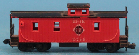 Rapido N Gauge Erie #17586 Caboose Model Caboose Car #RDC01U