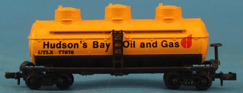 N Gauge Hudson's Bay Oil And Gas UTLX #77976 Model Car #OMC83U