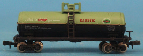 Bachmann N Gauge Dow Caustic CETX #14003 Train Model Car #BNC09U