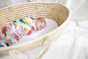 BAMBOO SWADDLE | SUMMER DREAMS - Cooper's Crib