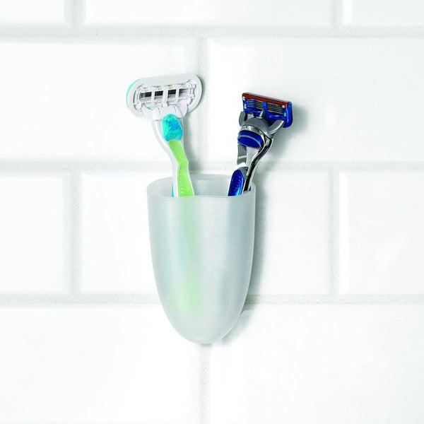 Command™ BATH16-ES Toothbrush Holder with Water-Resistant Strips - 1HomeShop.sg