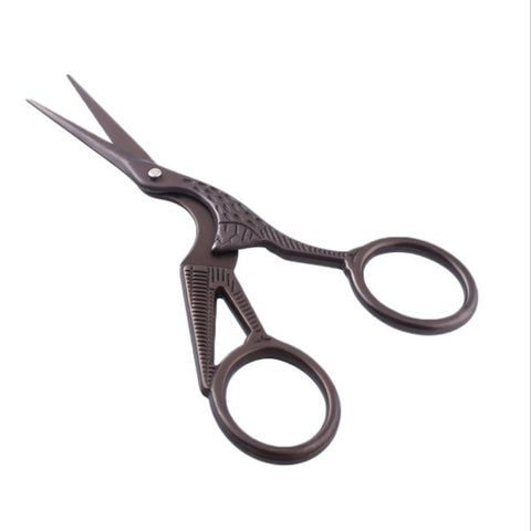 Hummingbird Gunmetal Grey Embroidery Scissors - SweetpeaStore