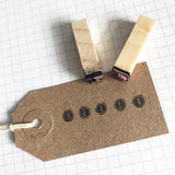 30 Vintage-Inspired Brown Kraft Card Luggage Tags 70mm x 35mm - SweetpeaStore