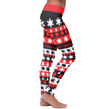 Tampa Bay Ugly Christmas Classic Football Leggings, Leggings, Xlusion, FamilyTrophy.com - FamilyTrophy.com
