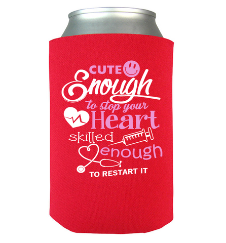 Cute Enough Can Koozie, Can Wrap, Trexify, FamilyTrophy.com - FamilyTrophy.com